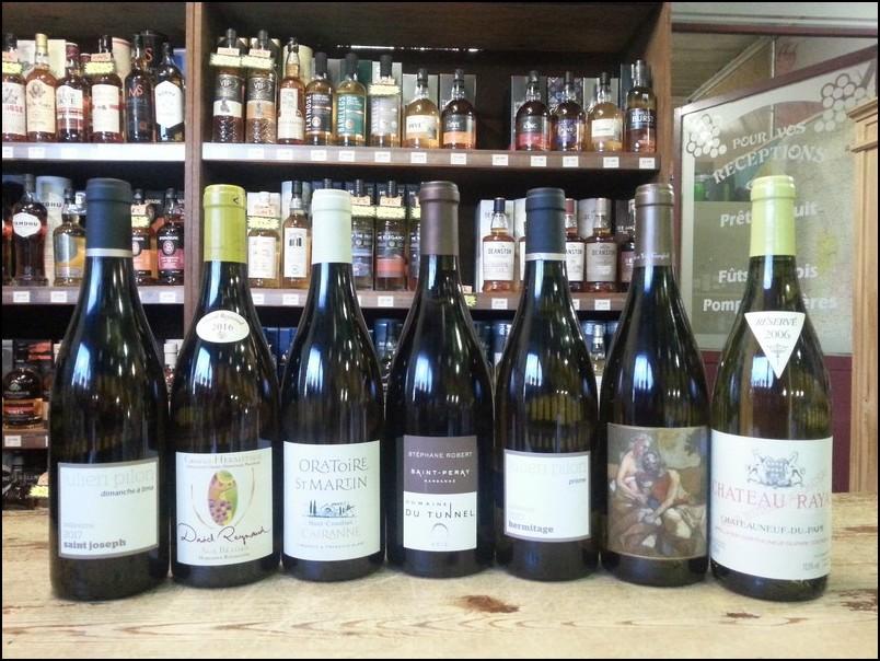 Dégustation Grands Vins Blancs du Rhône