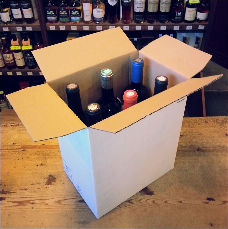 Box nature 6 bouteilles