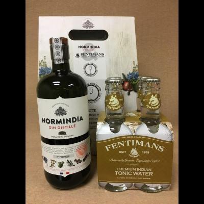 Coffret Gin Tonic Normindia/Fentimans