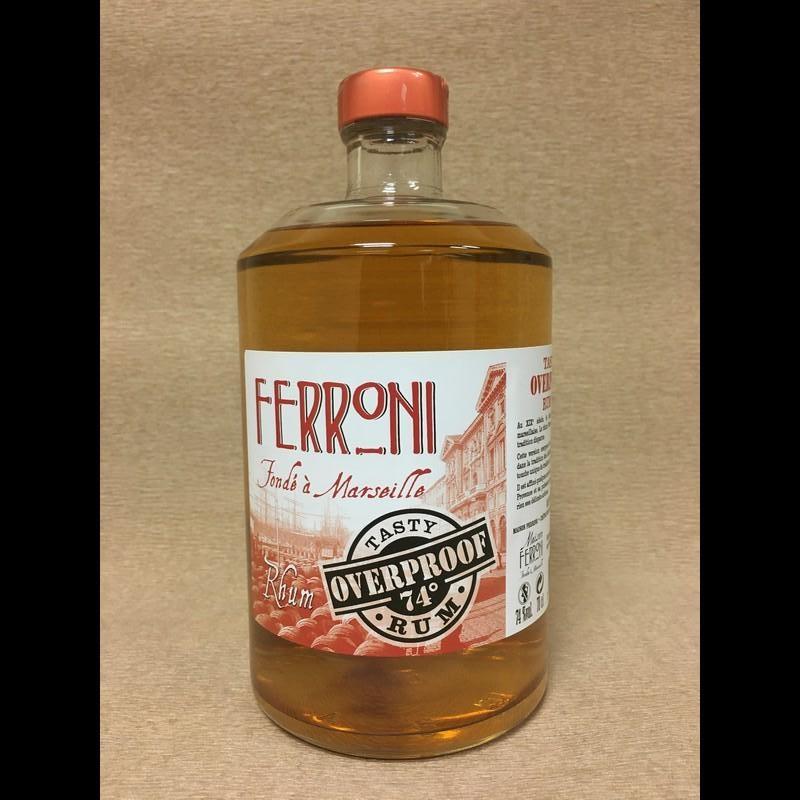Ferroni tastyoverproof 70cl