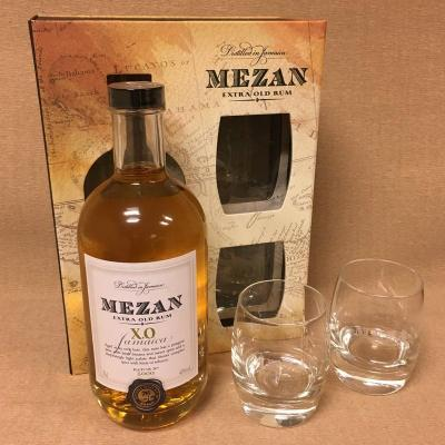 Coffret Mezan XO 70 cl + 2 verres