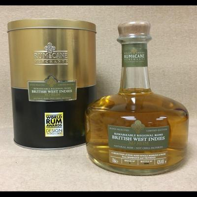 Rum & Cane British West Indies - 70 cl