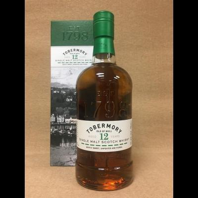 Tobermory 12 ans - 70 cl